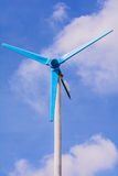 Wind power generator. Royalty Free Stock Photo