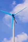 Wind power generator. Royalty Free Stock Photo