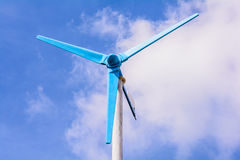 Wind power generator. Royalty Free Stock Photography