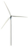 Wind power generator. Isolated on a white background Stock Image