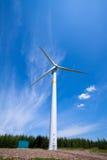 Wind Power Generator On The Grassland Stock Image