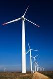 Wind power generators Royalty Free Stock Photography