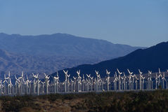 Wind power generators Stock Image