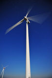 Wind power generators Royalty Free Stock Image