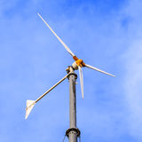 Wind power generators Stock Photo