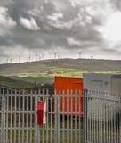 Wind Power generators in Ireland Stock Photo