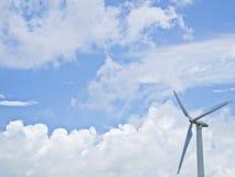 Wind power genertor Stock Photo