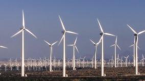 Hundreds Of Wind Turbines Turn In The California Desert