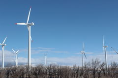 Wind power in Kazakhstan Stock Photos