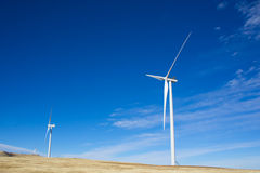 Wind Power in Midwest Royalty Free Stock Photo