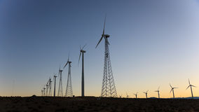 Wind Power, Palm Springs, California Royalty Free Stock Photos