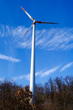 Wind power park Stock Photography