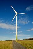Wind power plant Royalty Free Stock Photography