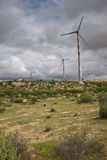 Wind power plants Royalty Free Stock Photography