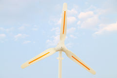 Wind power propeller Stock Image