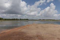 Wind power in Rio Grande do Norte, Brazil Royalty Free Stock Image