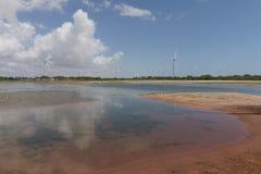 Wind power in Rio Grande do Norte, Brazil Stock Image