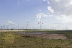 Wind power in Rio Grande do Norte, Brazil Stock Photos