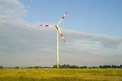 Wind power station Royalty Free Stock Image