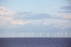 Wind power station Royalty Free Stock Photography