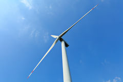 Wind power station Royalty Free Stock Photos