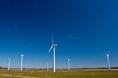 Wind power station Royalty Free Stock Photo