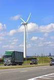 Wind power station in Minsk, Belarus Royalty Free Stock Photography