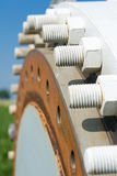 Wind power system Stock Photography