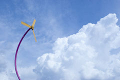 Wind Power Technology a Green Concept Royalty Free Stock Image