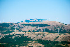 Wind power tower Royalty Free Stock Images