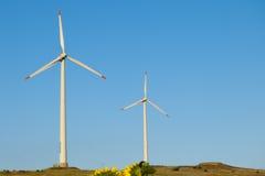 Wind Power Turbine Stock Images