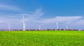 Wind power turbine Stock Photography