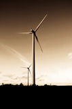 Wind power turbine Royalty Free Stock Photography
