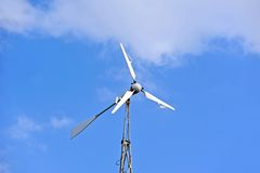 Wind power turbine Stock Photography