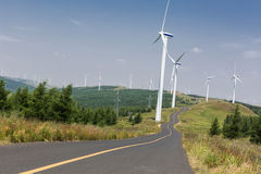 Wind Power Turbine Stock Image