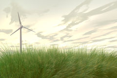 Wind Power / Wind turbines Stock Photography