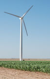 Wind Powered Electricity Generators Royalty Free Stock Image