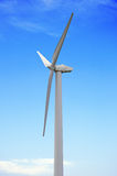 Wind-powered generator Royalty Free Stock Photography