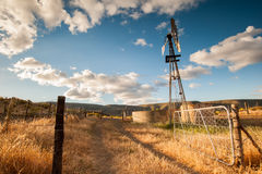 Wind pump royalty free stock photos