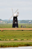 Wind pump on the River Waveney Stock Photography