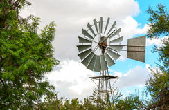 Wind pump Stock Photos