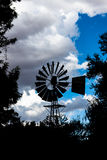 Wind pump Stock Photo
