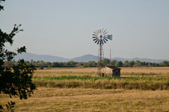 Wind pump. Wind vivarelli pump maremma tuscany italy Stock Photography