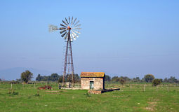 wind pump for water Royalty Free Stock Image