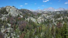 Wind River pasmo, Wyoming Zdjęcia Royalty Free