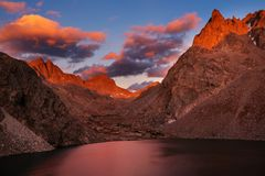 Wind river range royalty free stock photography