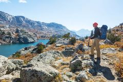 Wind river range royalty free stock images