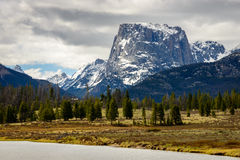 Wind River Range Royalty Free Stock Image