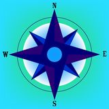 Wind rose 2 Stock Photo