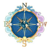 Wind rose Royalty Free Stock Photos